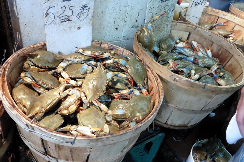 Paniers de crabes
