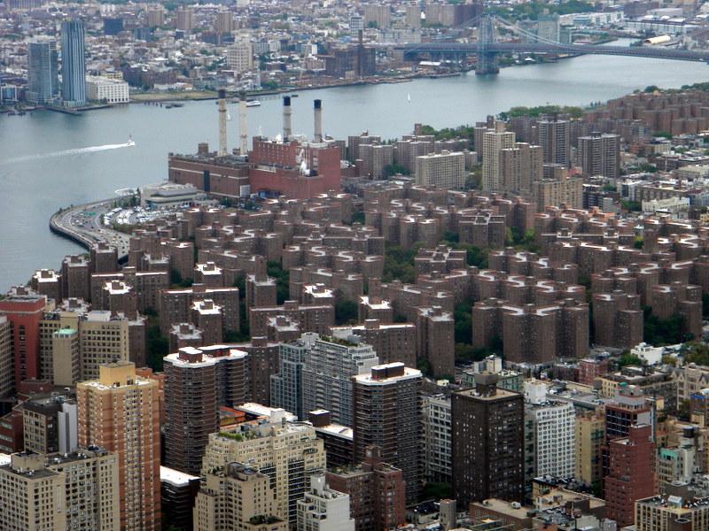Les toits de Manhattan