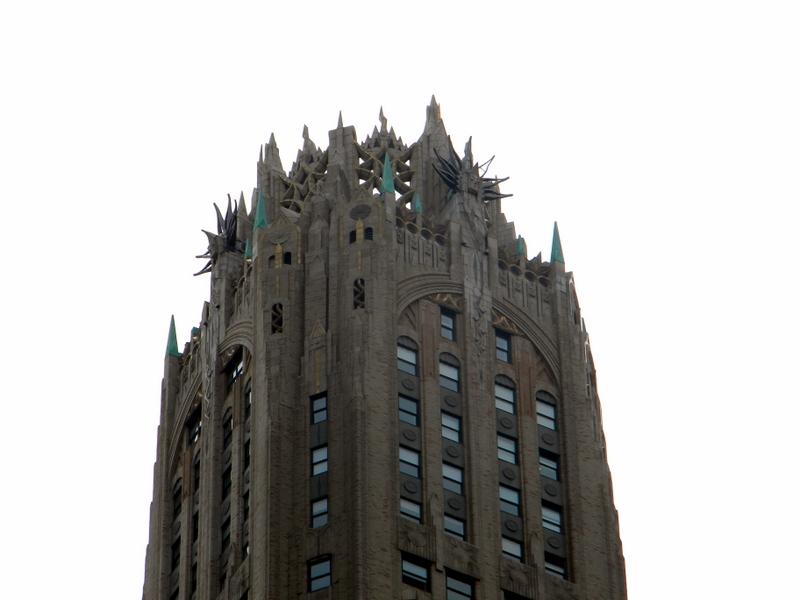 Le General Electric Building (détail)