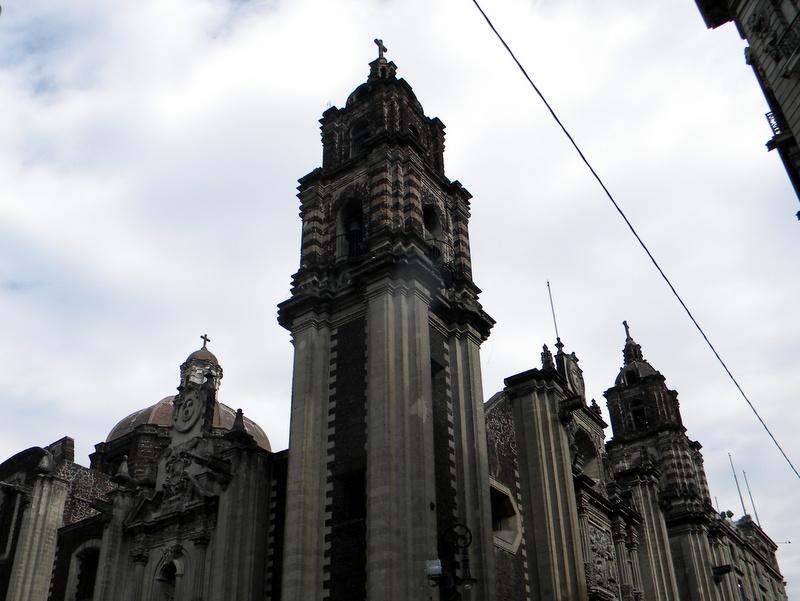 La cathédrale de Mexico