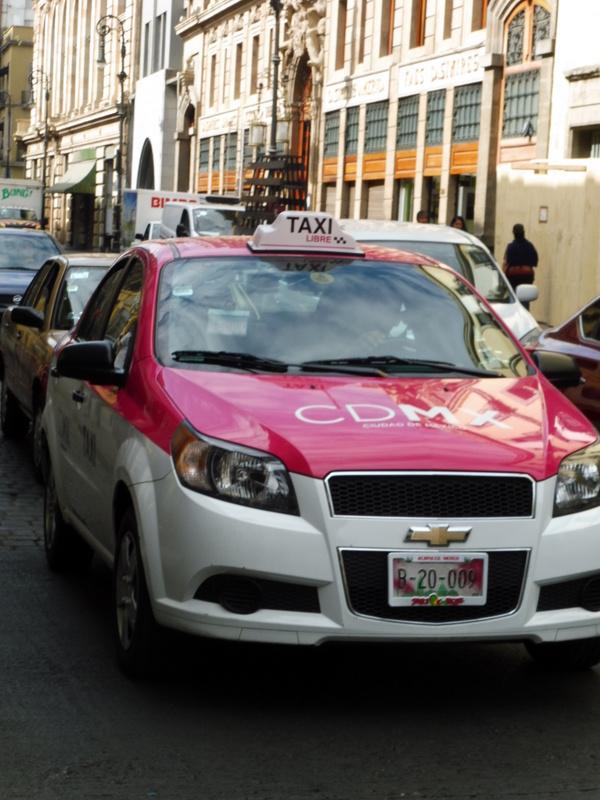 Taxi mexicain