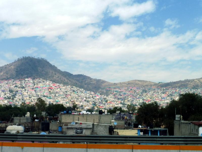 Les faubourgs de Mexico