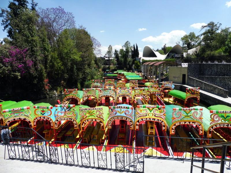 Arrivée à Xochimilco