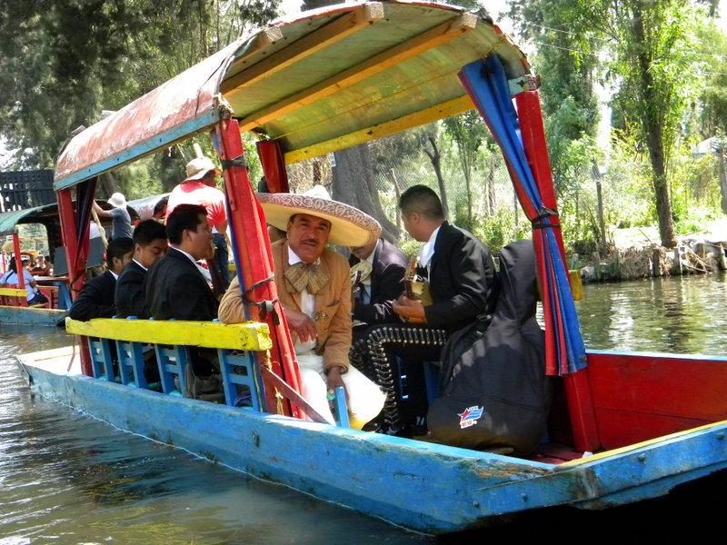 La barque des mariachis