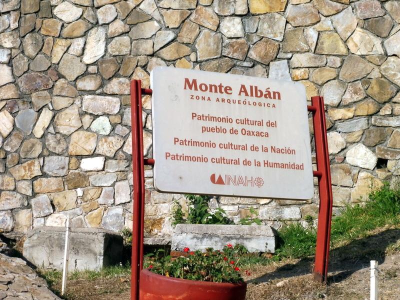 Arrivée à Monte Alban