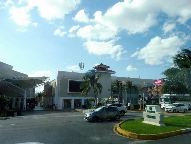 Arrivée à Cancun