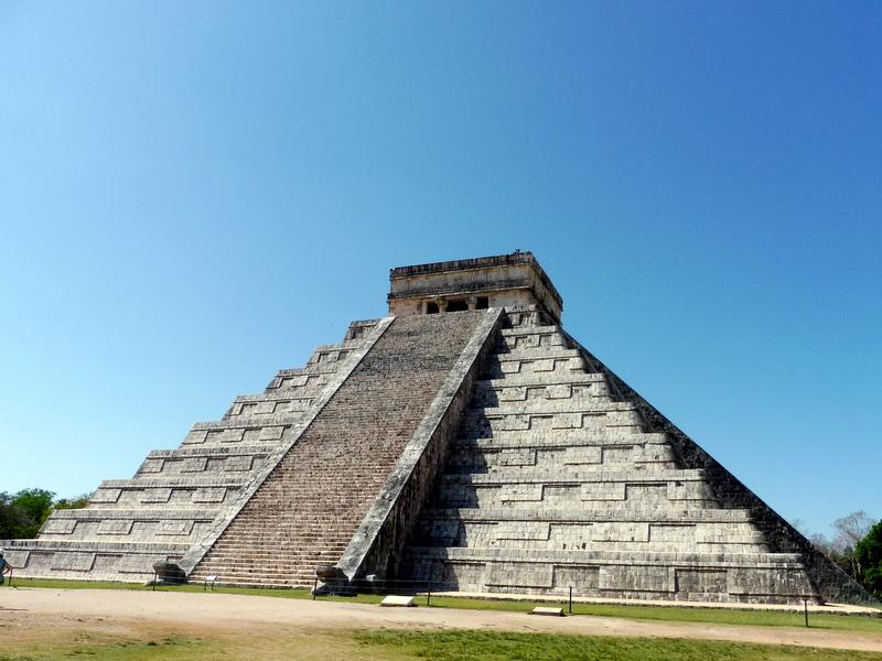 La pyramide de Kukulcan-La face nord