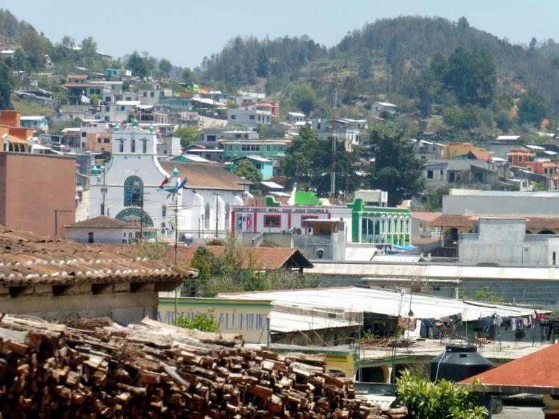 Vue générale du village