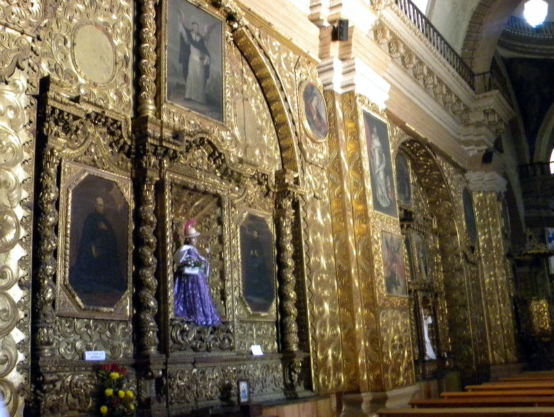 San Domingo-Le retable