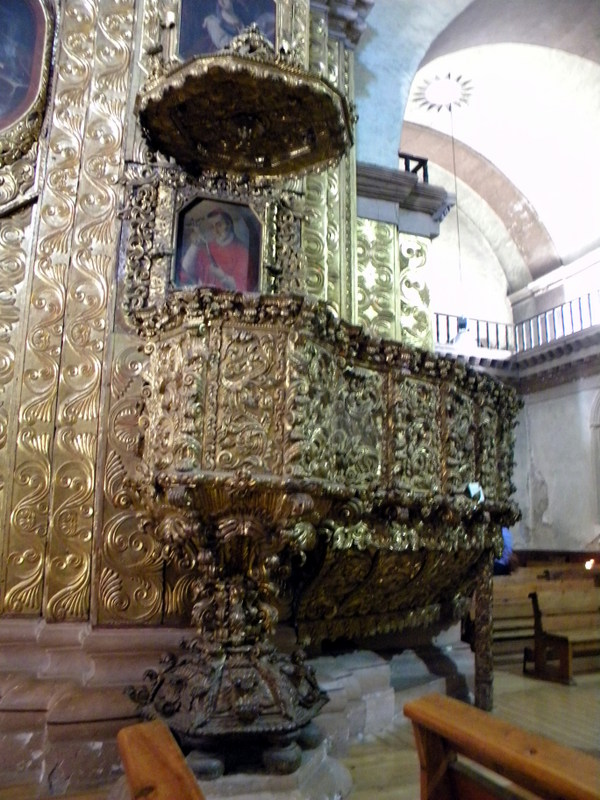 San Domingo-La chaire
