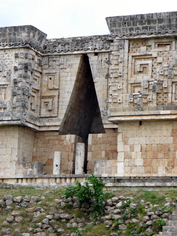 Voûte concave maya