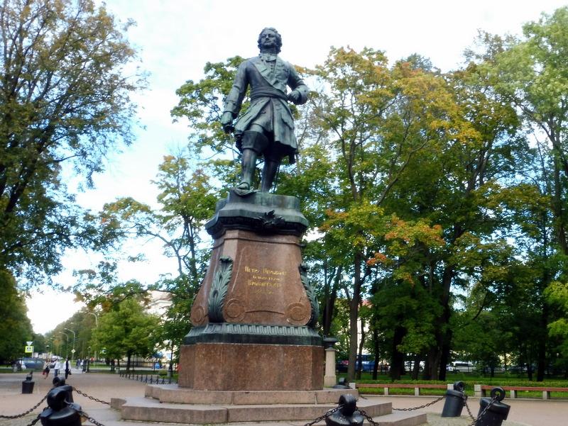 Statue de Pierre-le-Grand
