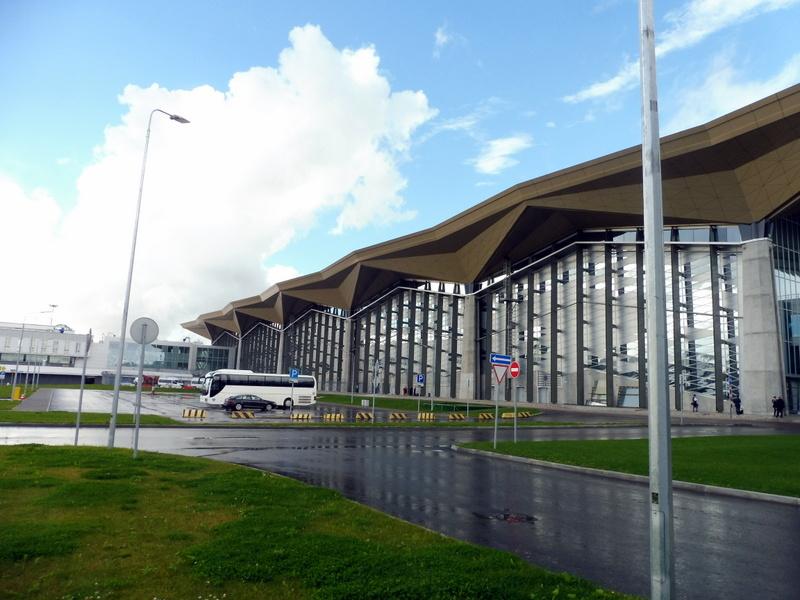 L'aéroport de Saint-Pétersbourg