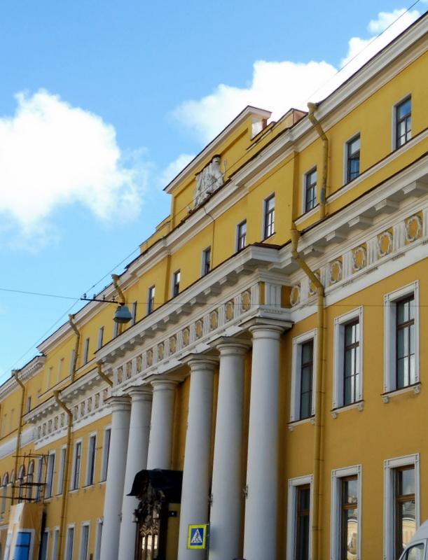 Façade du palais Youssoupov