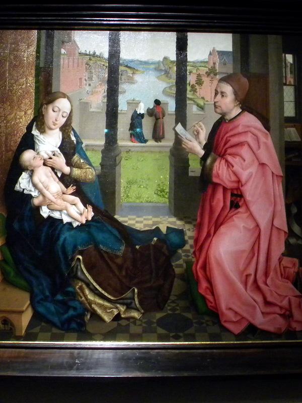 Saint Luc peignant la Vierge
