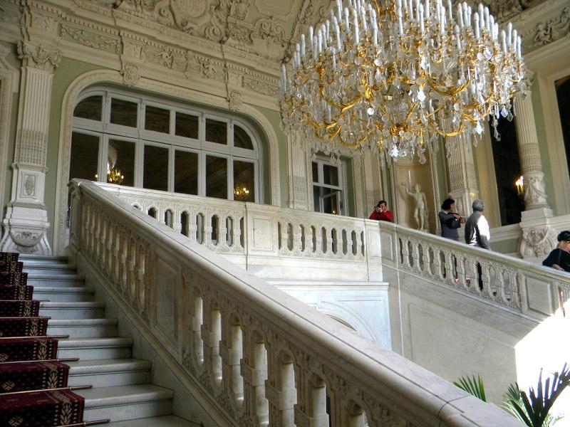 Le grand escalier de parade