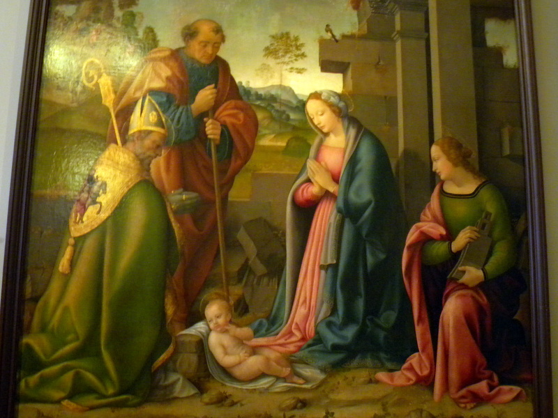 Nativité de Botticini
