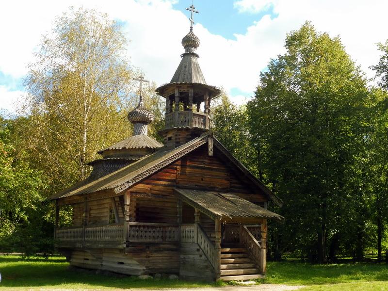 Église en bois
