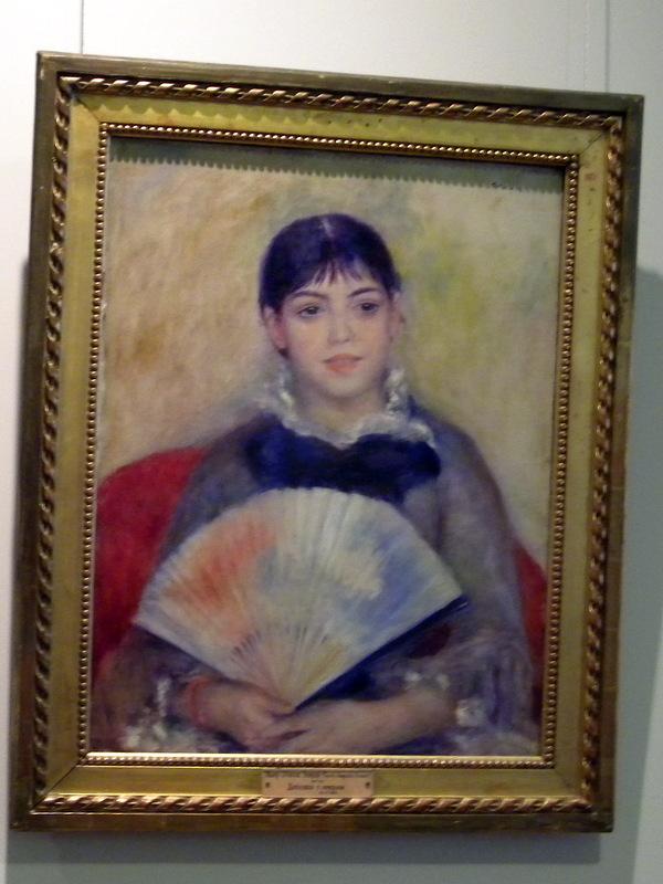 Jeune fille à l'éventail - Renoir