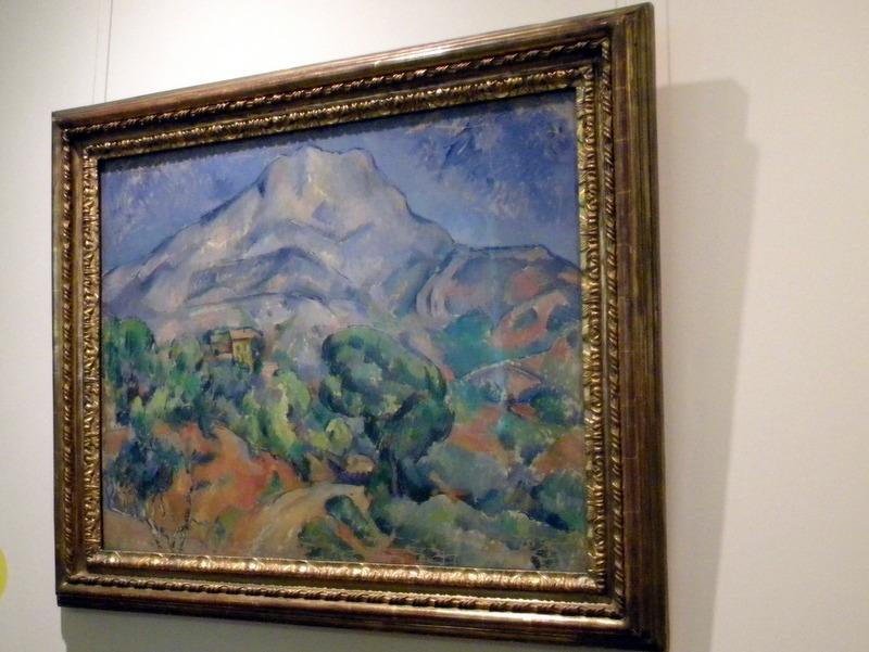 La montagne Sainte-Victoire - Cézanne