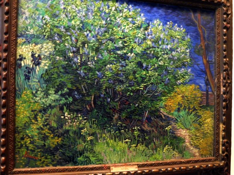 Buisson de lilas - Van Gogh