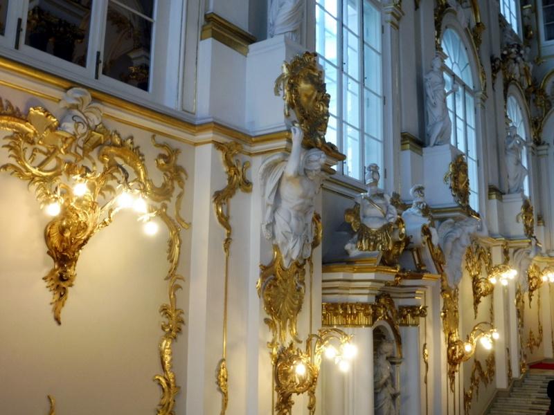 L'escalier d'honneur - Détail