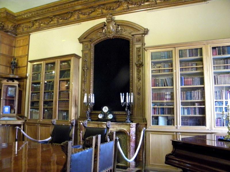 Le cabinet de travail du Prince