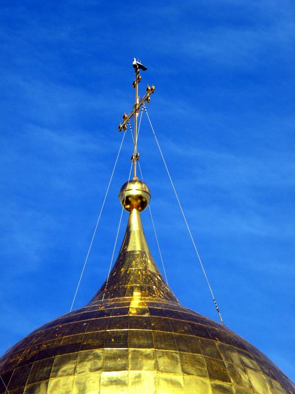 Le dôme central doré