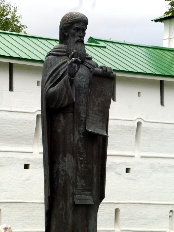 La statue de Saint Serge de Radonège