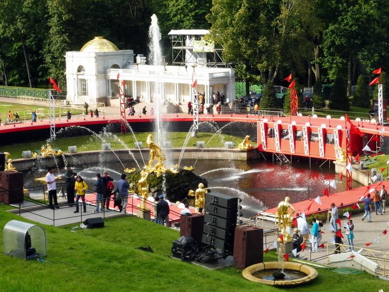 Fête au Grand Palais