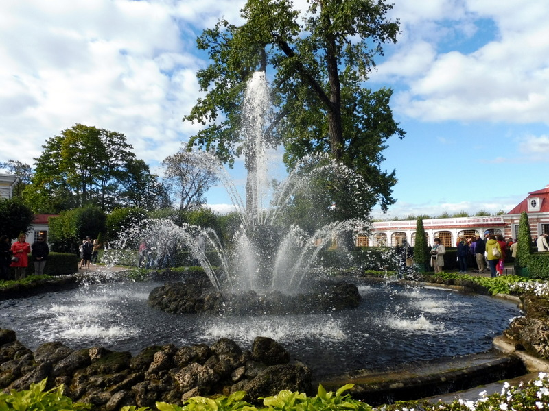Monplaisir et ses fontaines