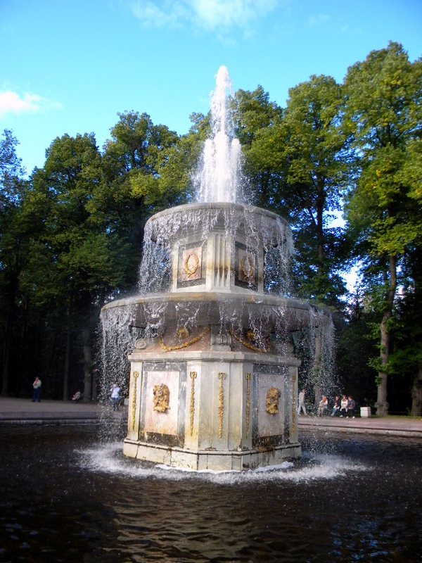 Fontaine romaine
