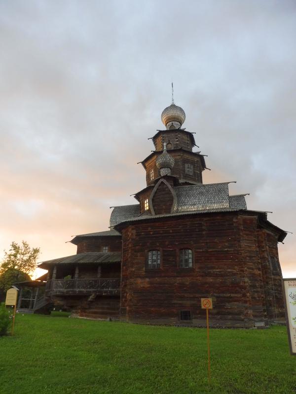 L'église de la Transfiguration du Sauveur en bois