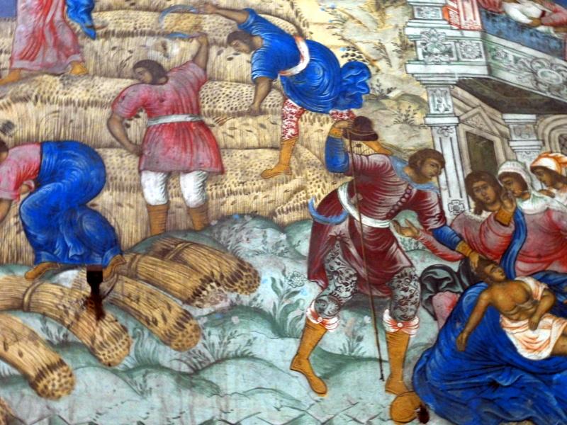 Église du Prophète Élie, les fresques (2)