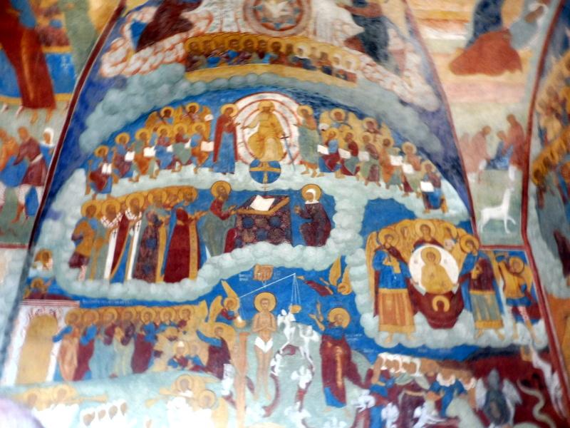 Église du Prophète Élie, les fresques (3)