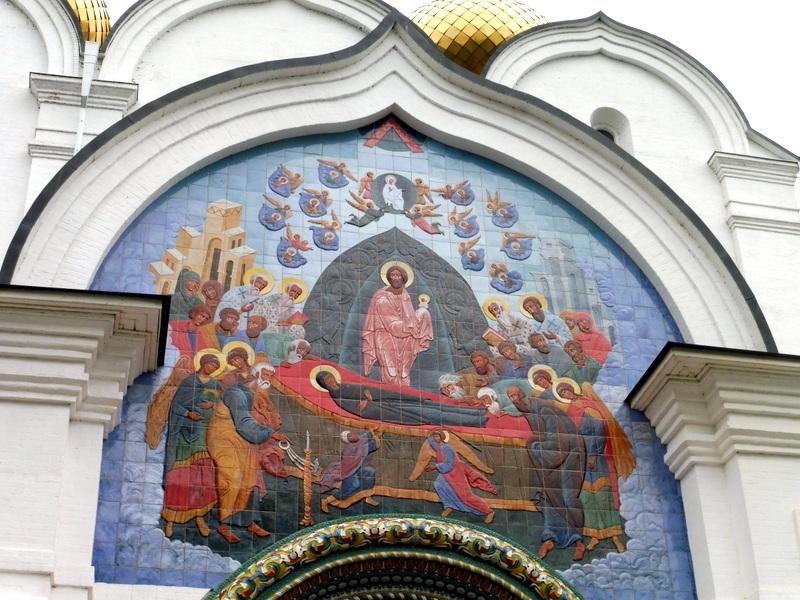 Notre-Dame de la Dormition-Détail
