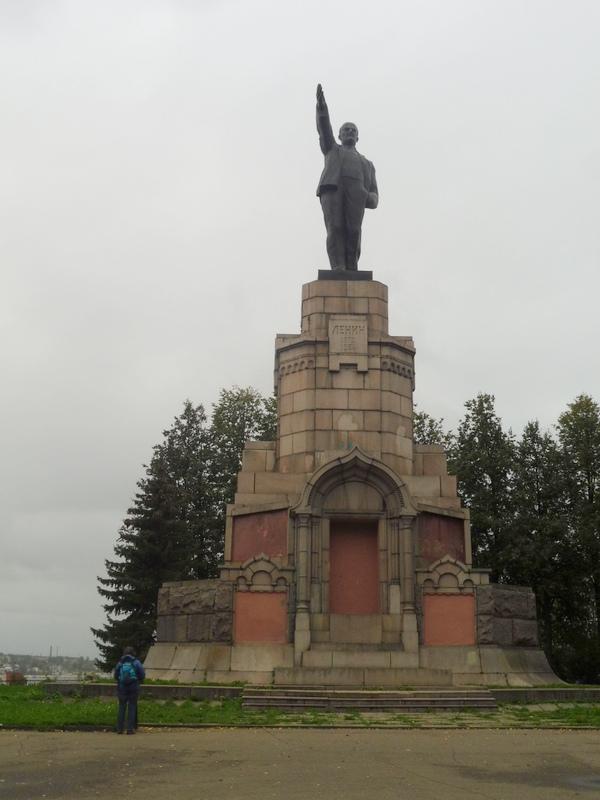 Le monument à Lénine