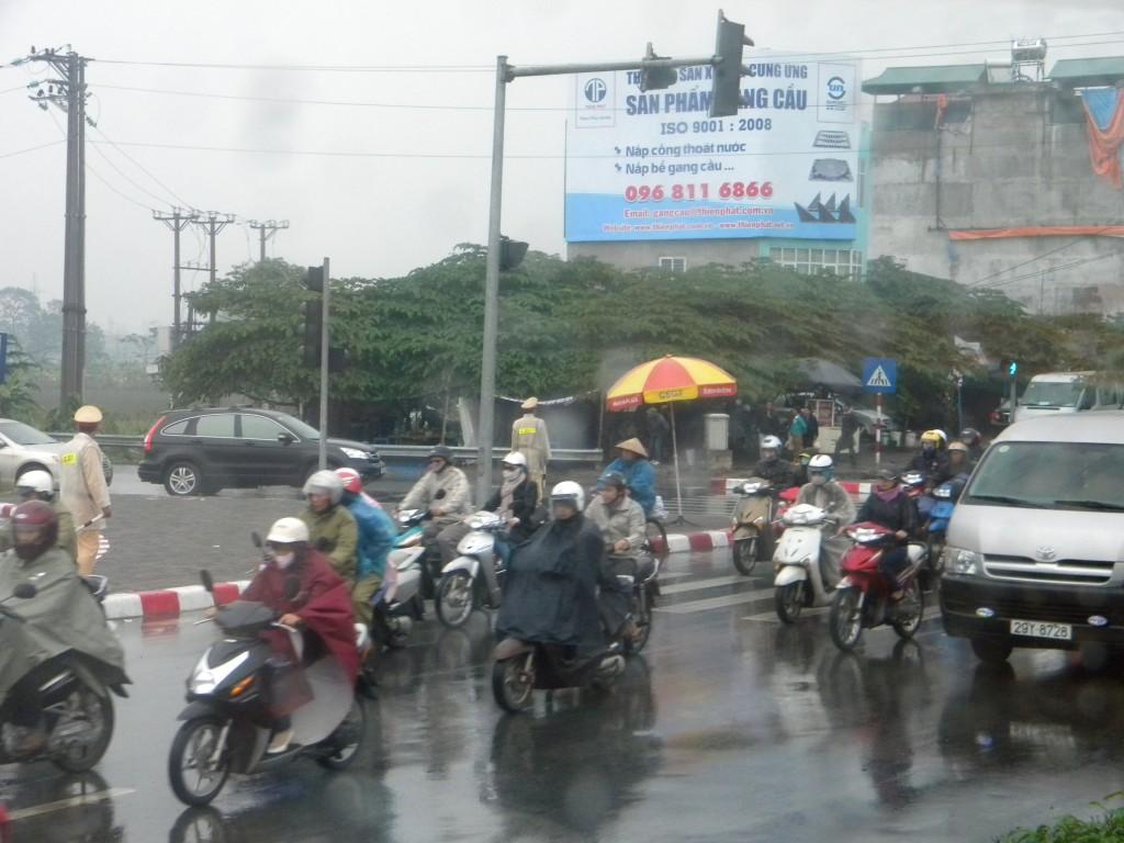 Hanoï, Vietnal, mousson