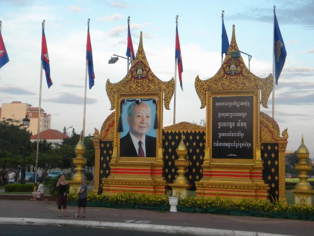 Phnom Penh, kmer, Norodom Sihanouk, Cambodge