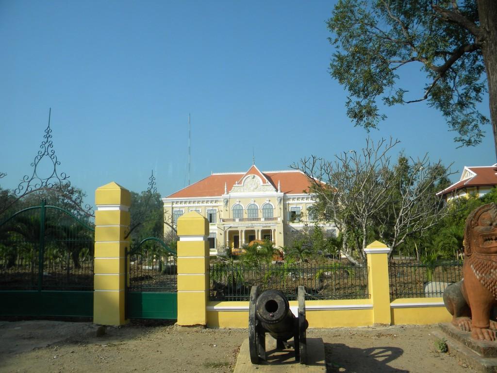 Battambang, Vat Kor, stupa, Bat Dambang Kranhoung, Cambodge