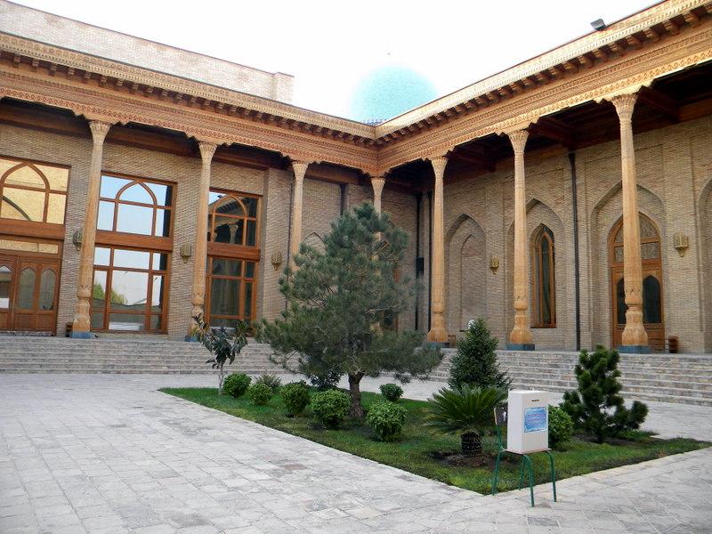 Tachkent, médersa Barak Khan, Tellia Cheikh, Pakhtator, Ouzbékistan