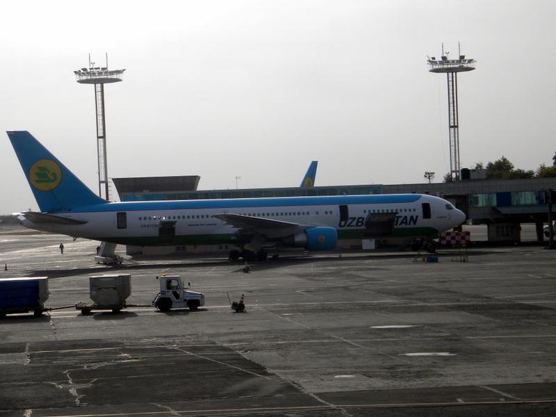 DSCN7313-Ce bel oiseau bleu et blanc nous ramènera à Paris.