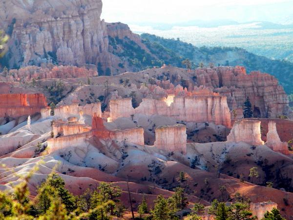 Lever de soleil sur Bryce canyon 3