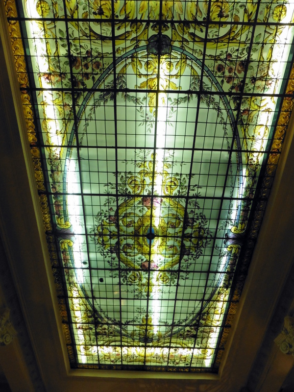 Le plafond art-déco