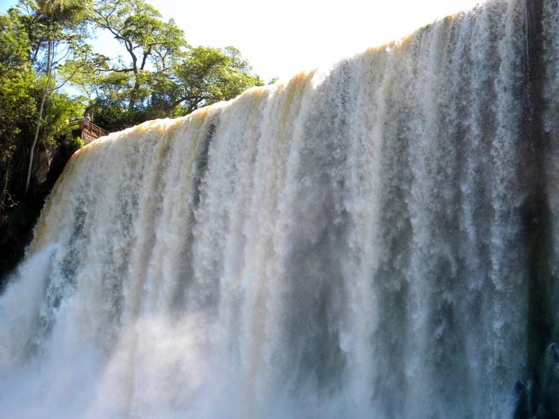 Le mur d'eau