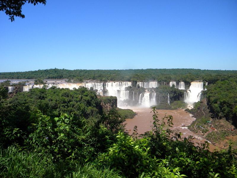 Les chutes vues du Brésil-1