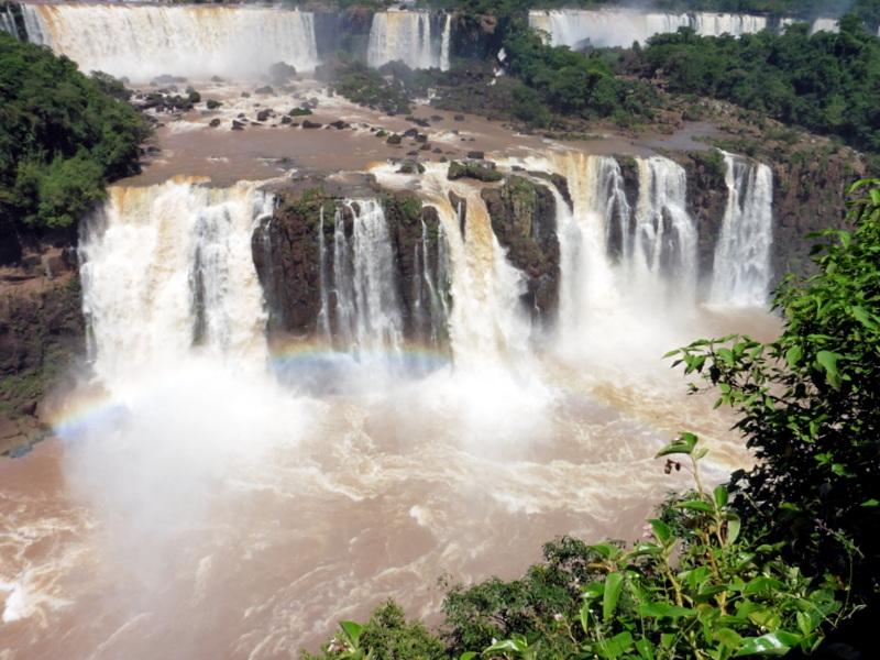 Les chutes vues du Brésil-2