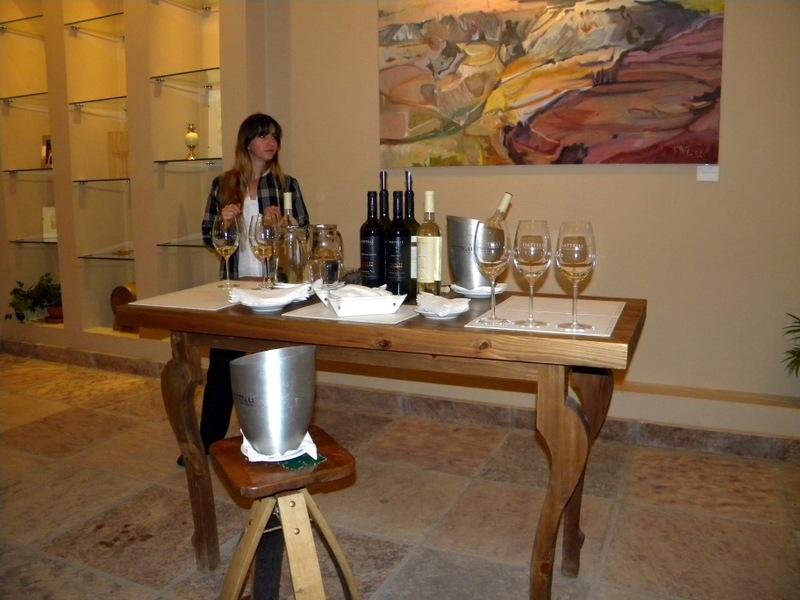 Dégustation de vin argentin
