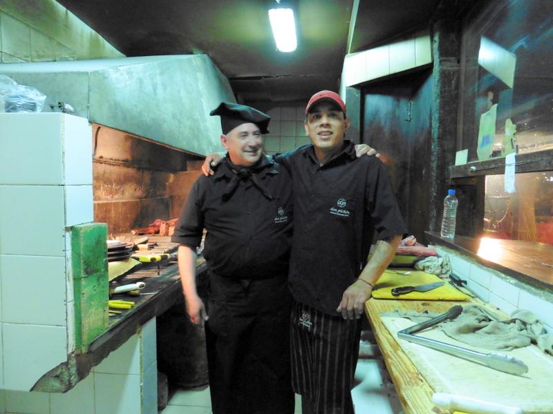 Les cuisiniers chez Don Pichon