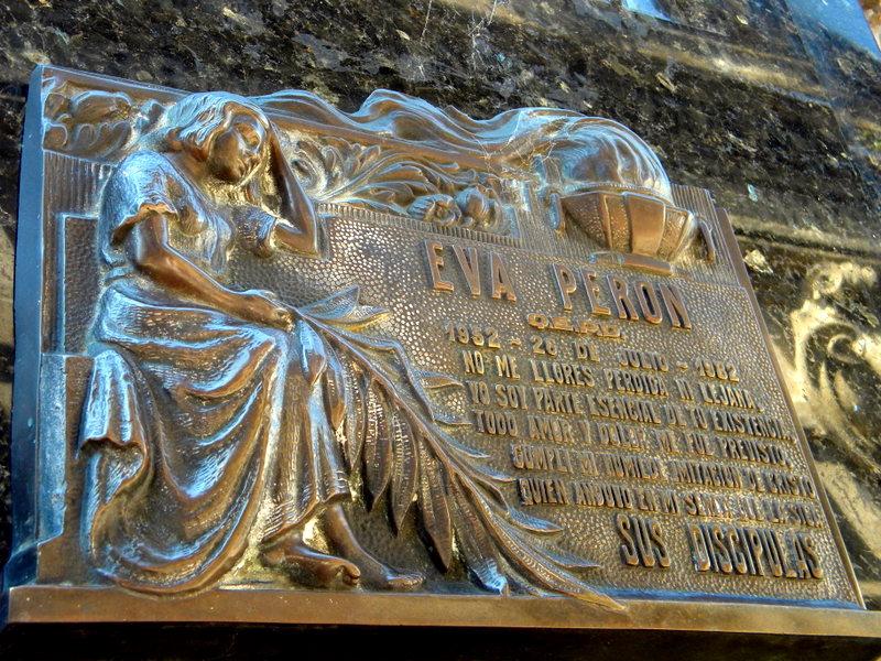 Monument funéraire d'Eva Peron